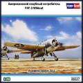 1:48 Hobby Boss 80327 Американский палубный истребитель F4F-3 Wildcat