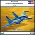 1:48 Hobby Boss 81756 Российский истребитель-бомбардировщик Су-34