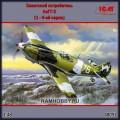 1:48 ICM 48091 Советский истребитель ЛаГГ-3 (1 - 4-ой серии)