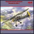 1:48 ICM 48211 Немецкий самолёт-разведчик Henschel Hs.126A-1