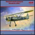 1:48 ICM 48212 Немецкий самолёт-разведчик Henschel Hs.126B-1