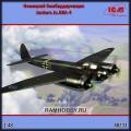 1:48 ICM 48233 Немецкий бомбардировщик Junkers Ju.88A-4