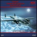 1:48 ICM 48243 Немецкий тяжёлый ночной истребитель Dornier Do.17Z-10