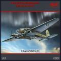 1:48 ICM 48262 Немецкий бомбардировщик Heinkel He.111H-6