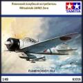 1:48 Tamiya 61016 Японский палубный истребитель Mitsubishi A6M2 Zero