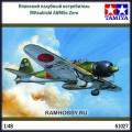 1:48 Tamiya 61027 Японский палубный истребитель Mitsubishi A6M5c Zero