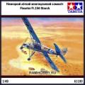 1:48 Tamiya 61100 Немецкий лёгкий многоцелевой самолёт Fieseler Fi.156 Storch