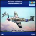 1:48 Trumpeter 02849 Немецкий истребитель Messerschmitt Me.509