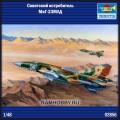 1:48 Trumpeter 02856 Советский истребитель МиГ-23МЛД