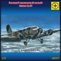 1:72 Моделист 207277   Немецкий транспортный самолёт Junkers Ju.52