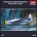 1:72 Academy 12452 Американский палубный торпедоносец Grumman TBF-1 Avenger