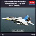 1:72 Academy 12534 Американский палубный истребитель McDonnell Douglas F/A-18C Hornet VFA-82