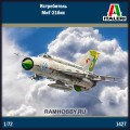 1:72 Italeri 1427 Истребитель МиГ-21бис