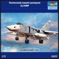 1:72 Trumpeter 01672  Тактический самолёт-разведчик Су-24МР