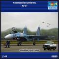 1:144 Trumpeter 03909 Советский истребитель Су-27