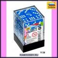 Звезда 1139 Набор синих игровых кубиков D6 (36шт)
