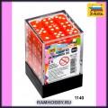 Звезда 1140 Набор оранжевых игровых кубиков D6 (36шт)