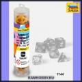 Звезда 1144 Набор жёлтых игровых кубиков для ролевых игр (7шт)