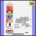Звезда 1148 Набор оранжевых игровых кубиков для ролевых игр (7шт)