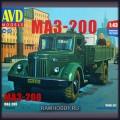 1:43 AVD Models 1365 Бортовой грузовик МАЗ-200