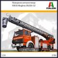 1:24 Italeri 3784 Пожарная автолестница IVECO Magirus DLK26-12