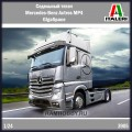 1:24 Italeri 3905 Седельный тягач Mercedes-Benz Actros MP4 GigaSpace
