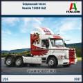 1:24 Italeri 3937 Седельный тягач Scania T143H 6x2